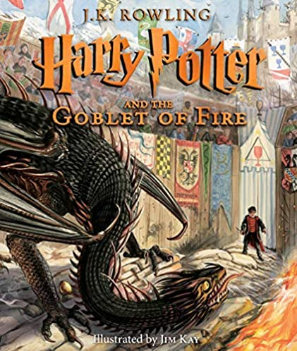 Harry Potter and the Goblet of Fire: Illustrated Edition (Harry Potter, Book 4) (Illustrated edition) (4)